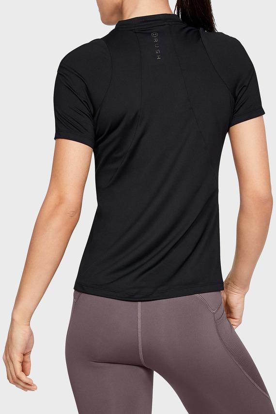 Женская черная футболка UA Rush