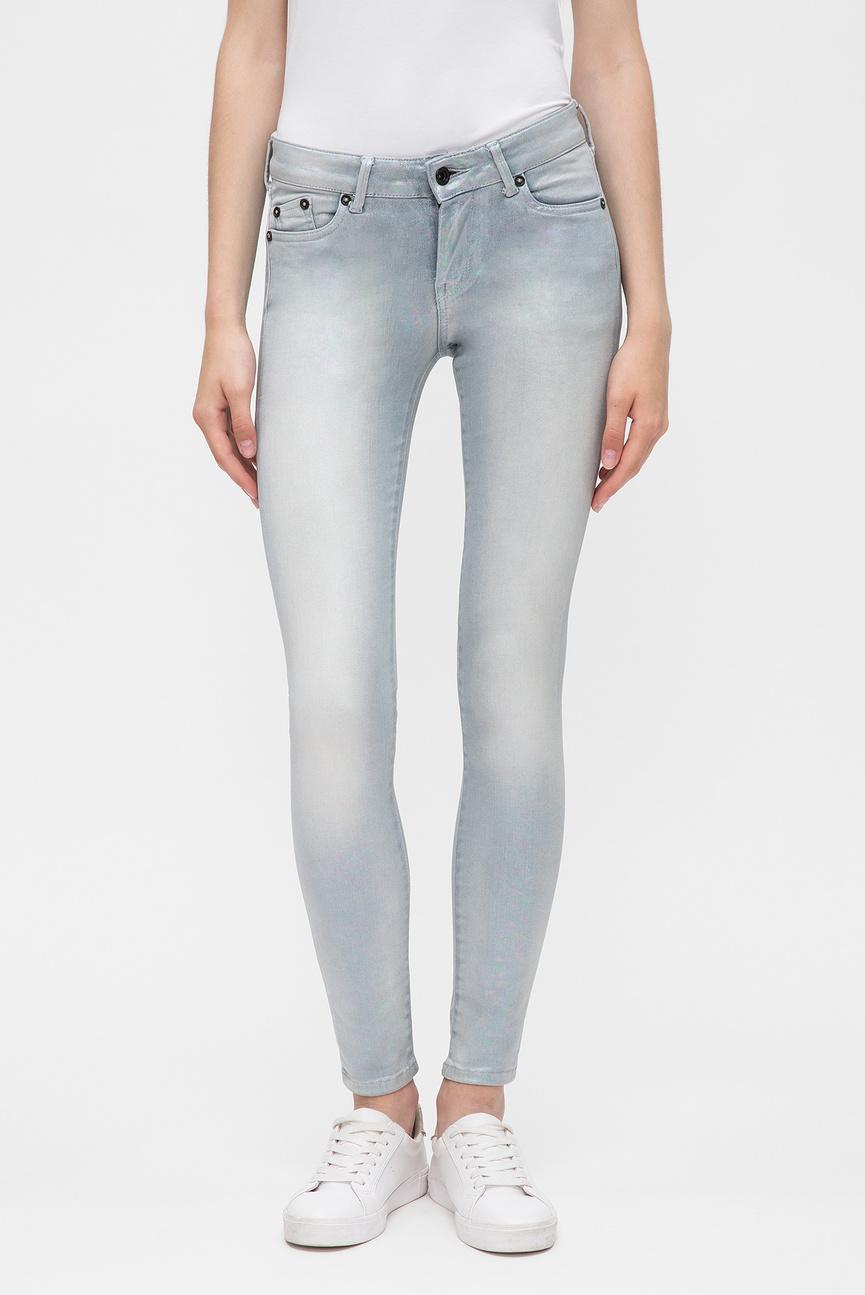 Женские серые джинсы PIXIE HOLOGRAPHIC