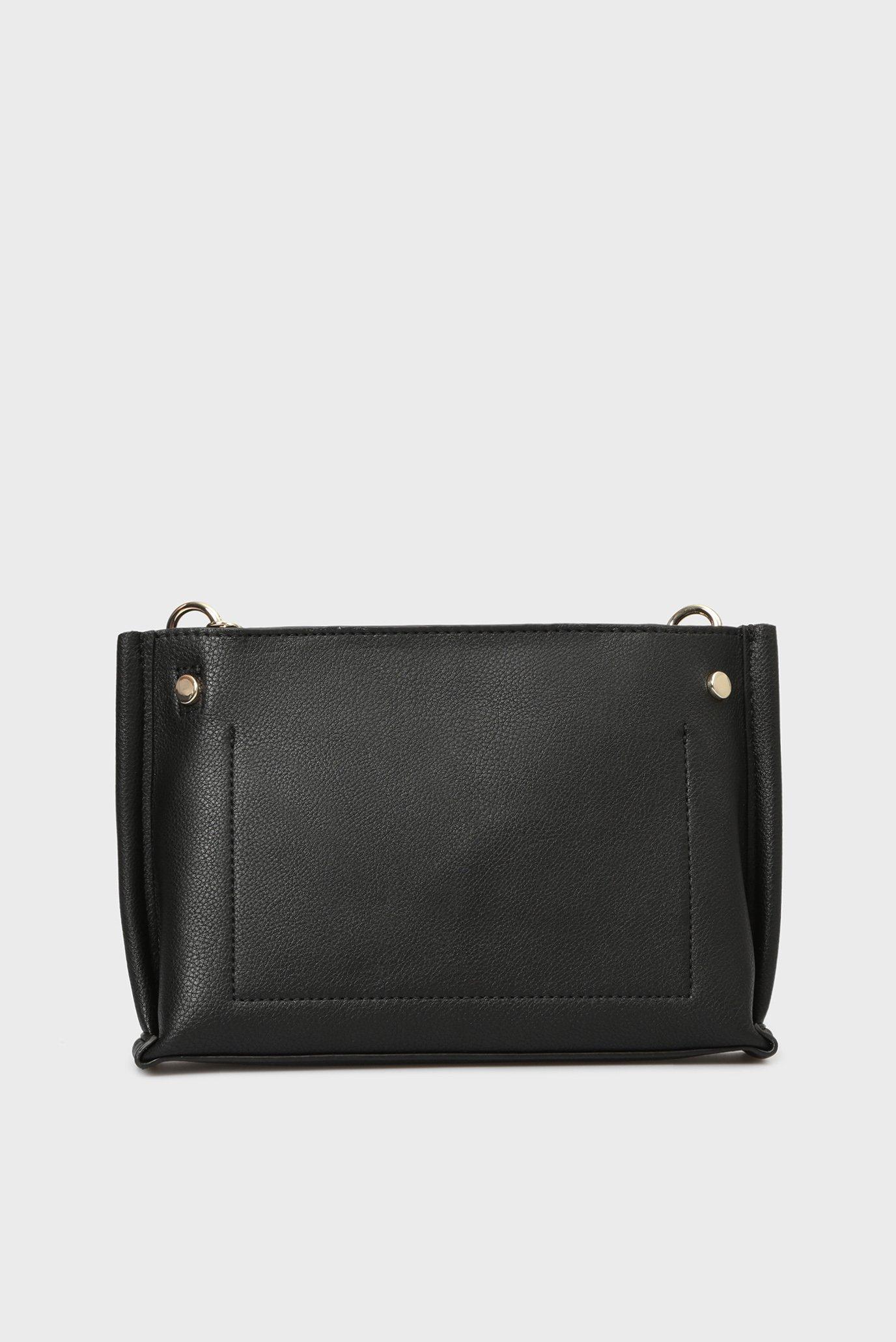 Купить Женская черная сумка через плечо TOMMY CHAIN CROSSOVER Tommy Hilfiger Tommy Hilfiger AW0AW05812 – Киев, Украина. Цены в интернет магазине MD Fashion