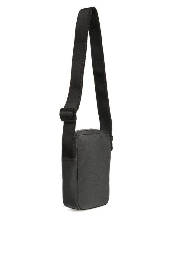 Мужская серая сумка через плечо