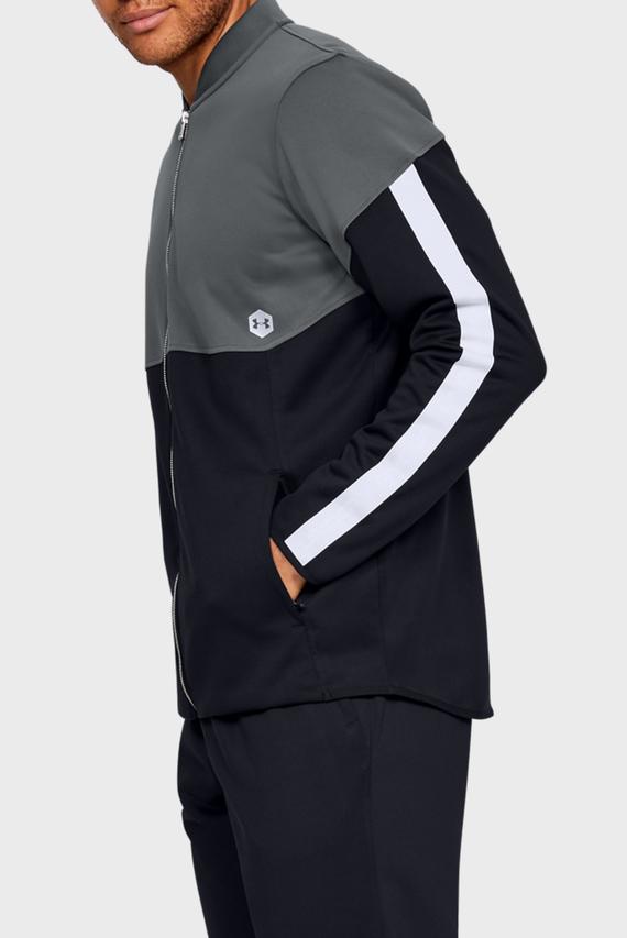 Мужская серая спортивная кофта Athlete Recovery Knit Warm Up