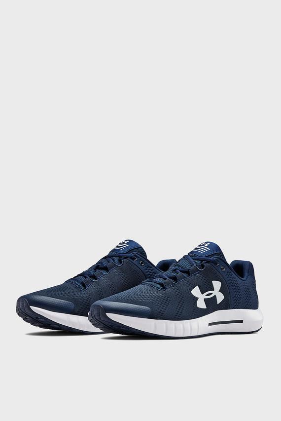 Мужские синие кроссовки UA Micro G Pursuit BP-NVY