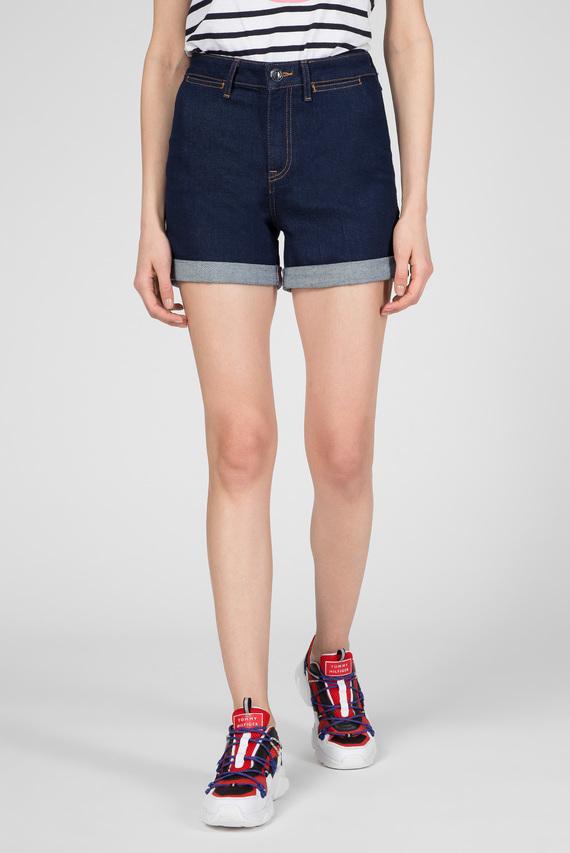 Женские темно-синие джинсовые шорты ROME