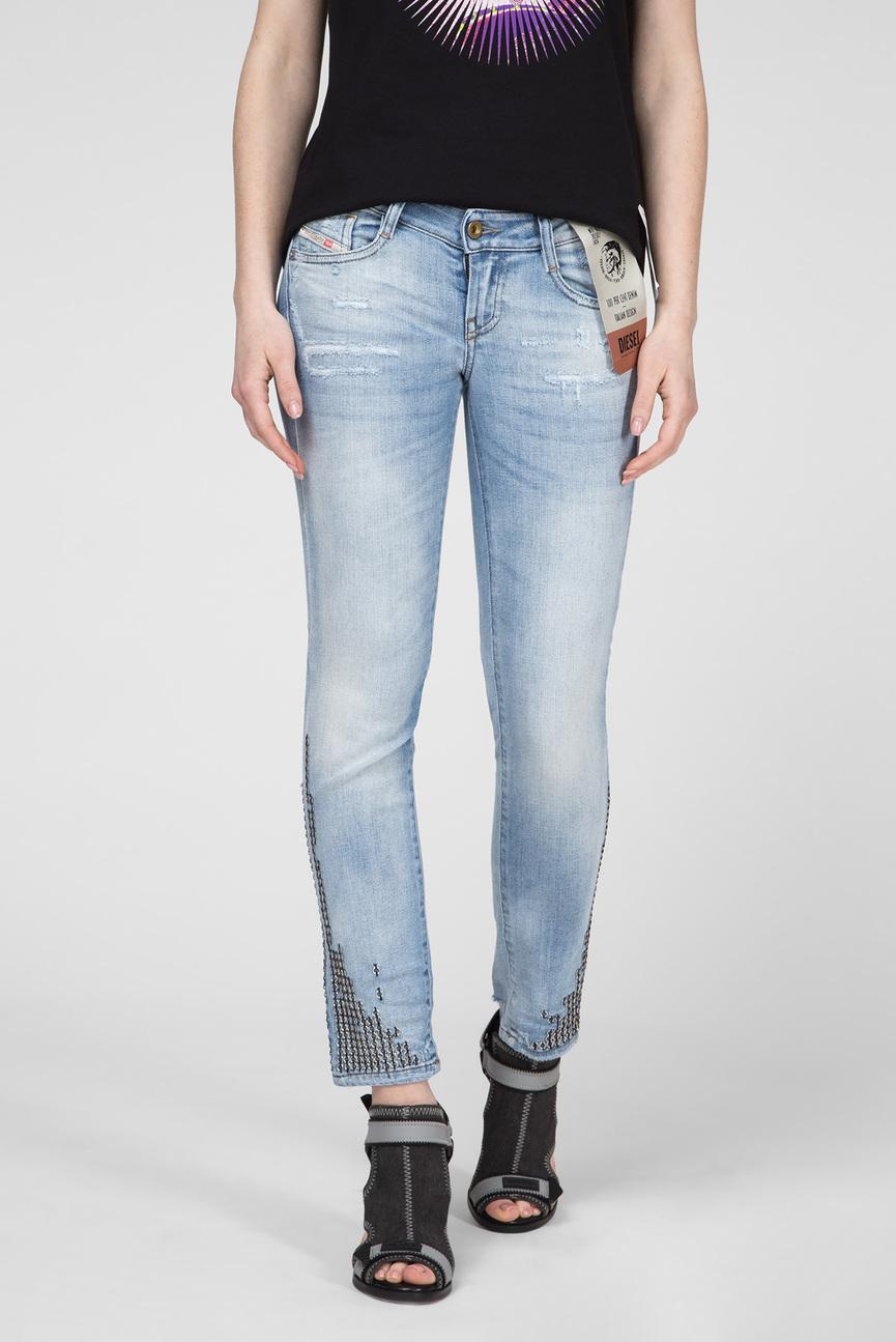 Женские голубые джинсы D-RAMY