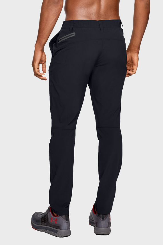 Мужские черные спортивные брюки UA Fusion