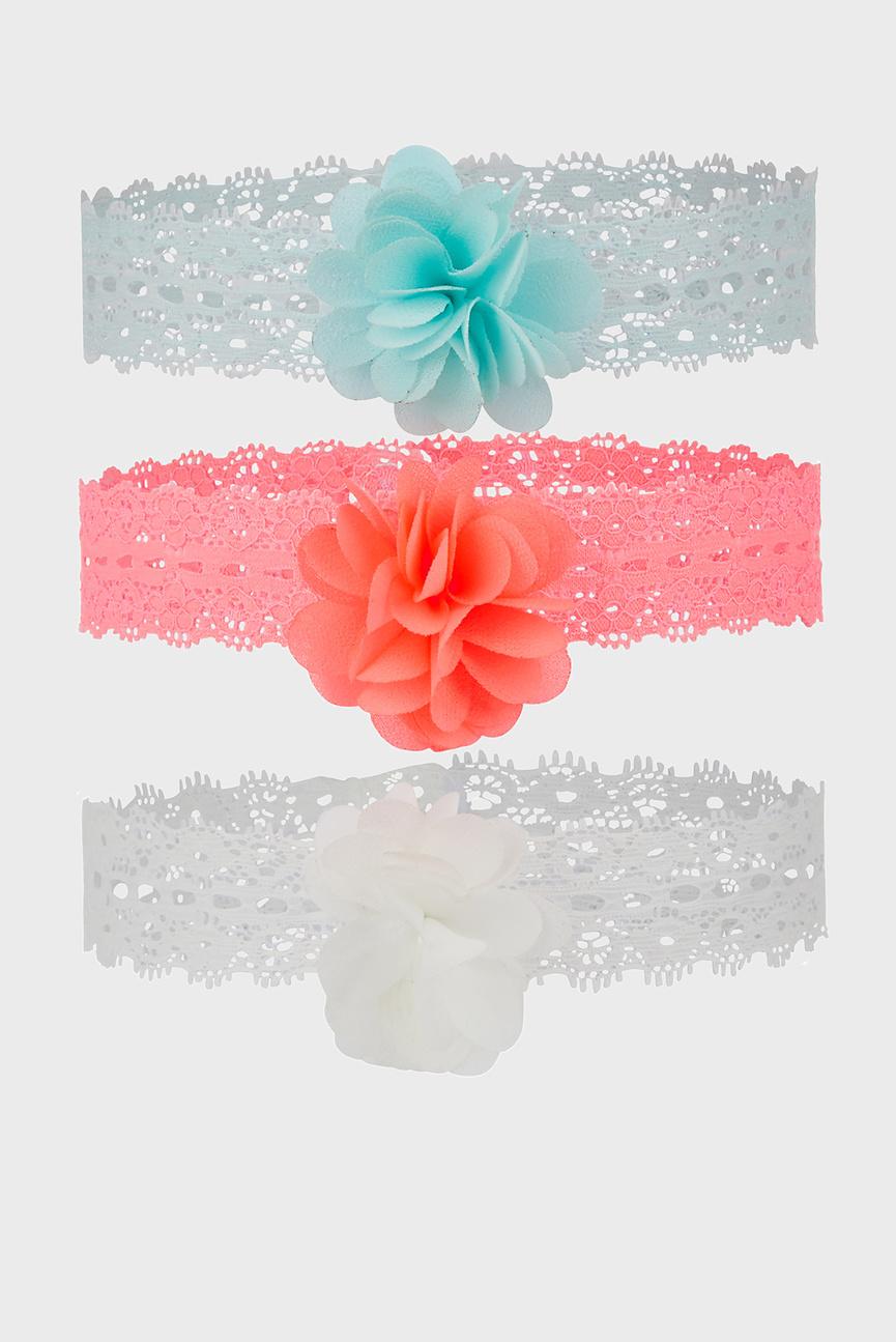 Набор детских повязок Pom Lace (3 шт)