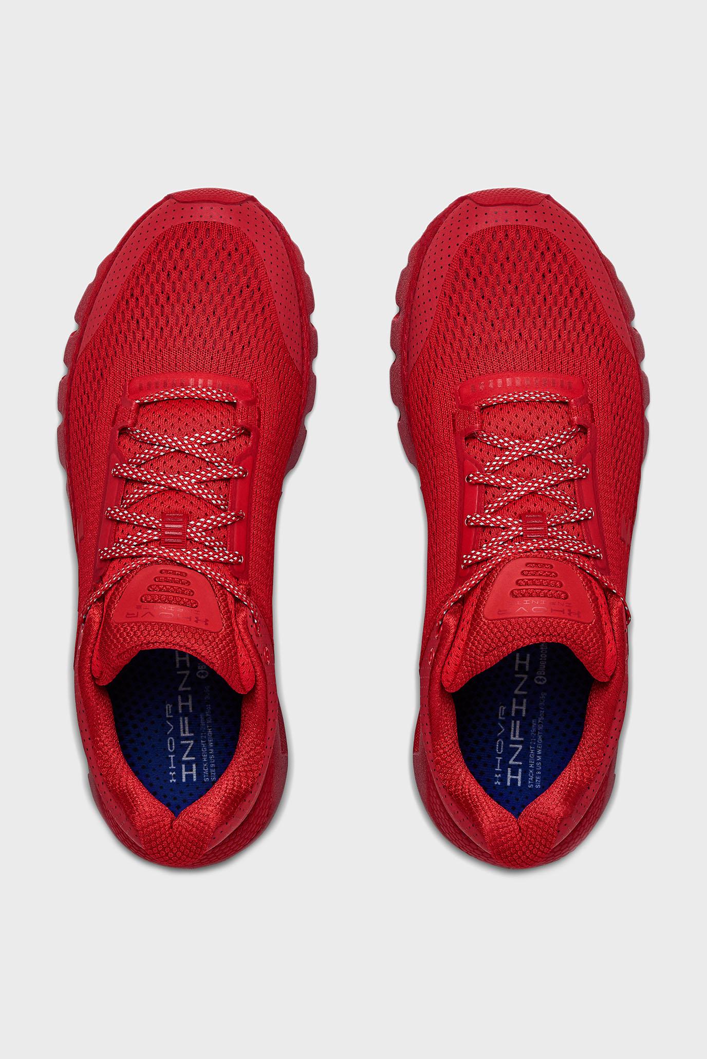Мужские красные кроссовки UA HOVR Infinite D2D Under Armour