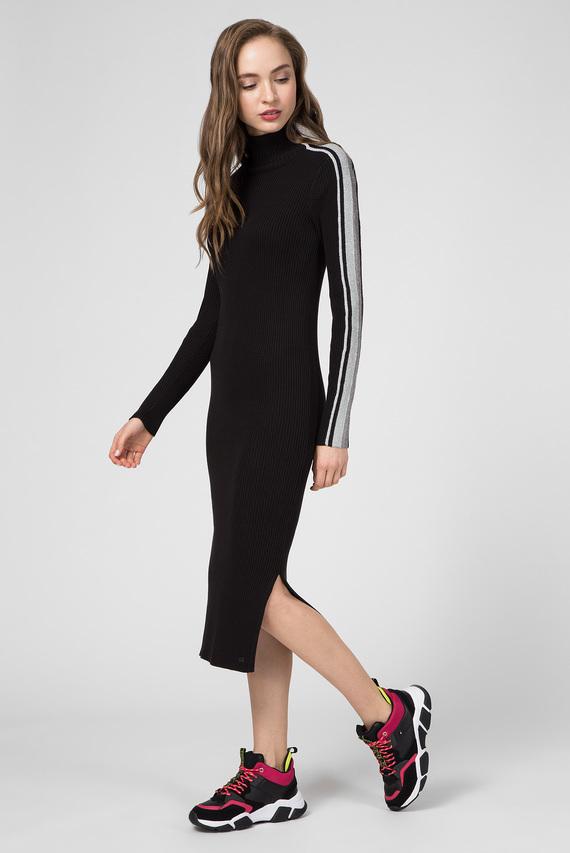Женское черное платье CACIE