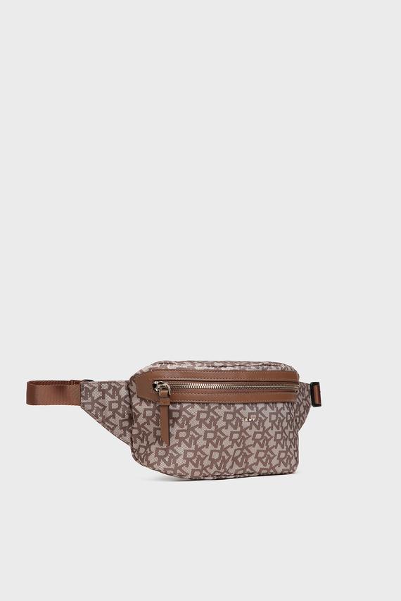 Женская коричневая поясная сумка Casey