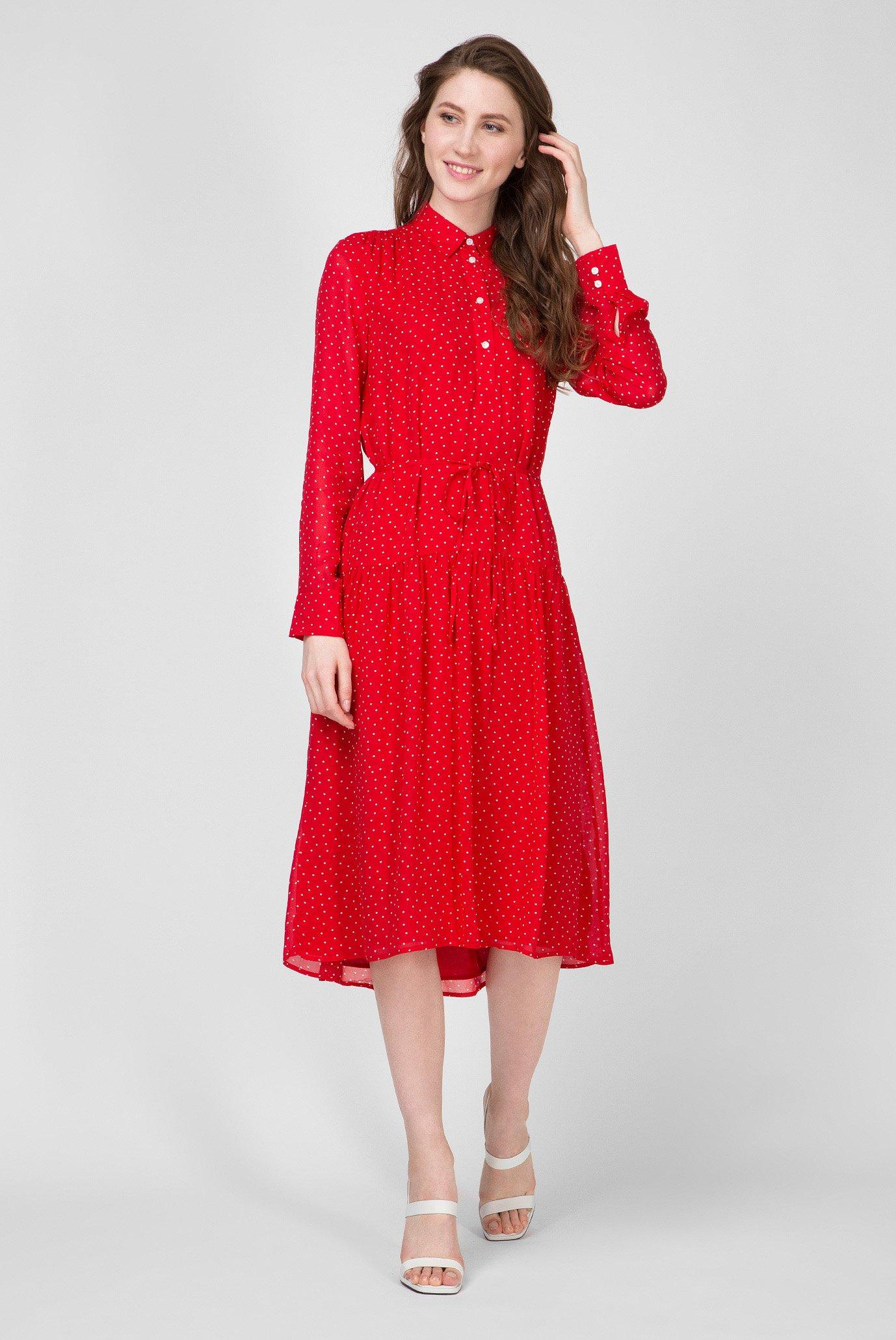 Женское красное платье FRENCH DOT Gant