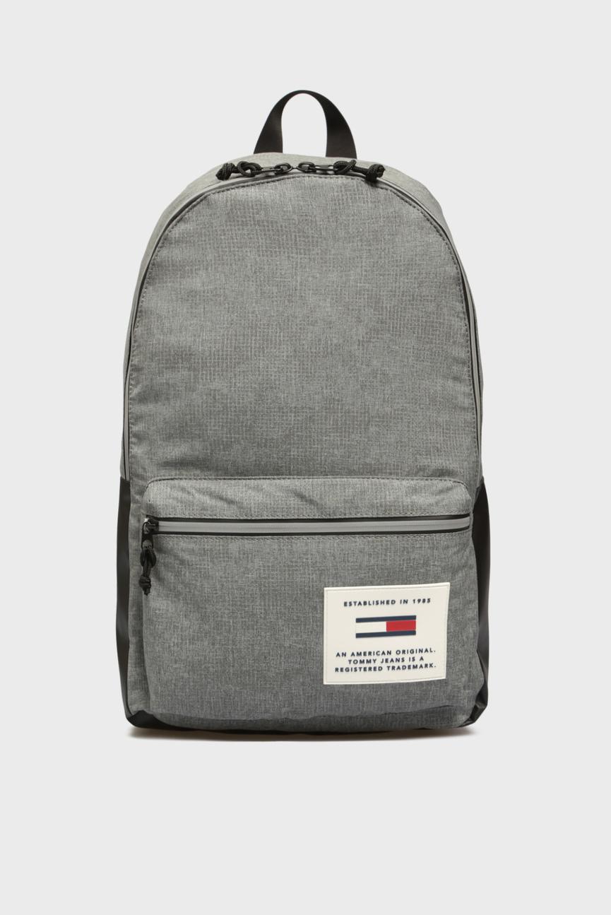 Мужской серый рюкзак TJM COOL TECH DOME