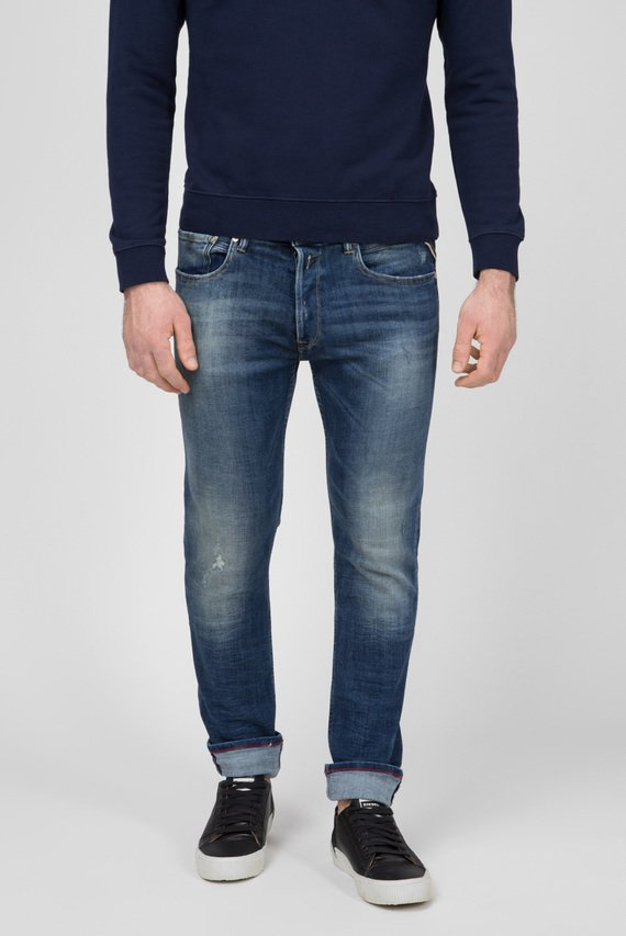 Мужские синие джинсы DONNY