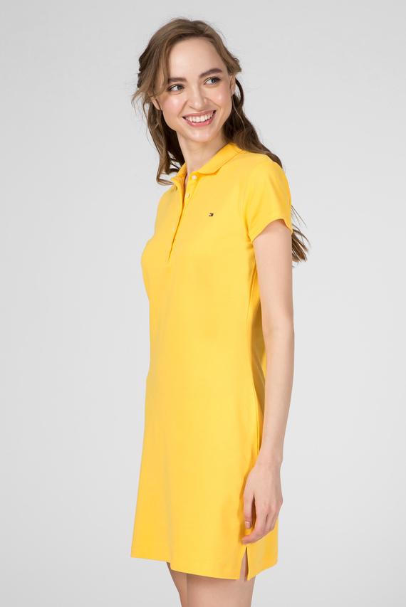 Женское желтое платье-поло NEW SLIM