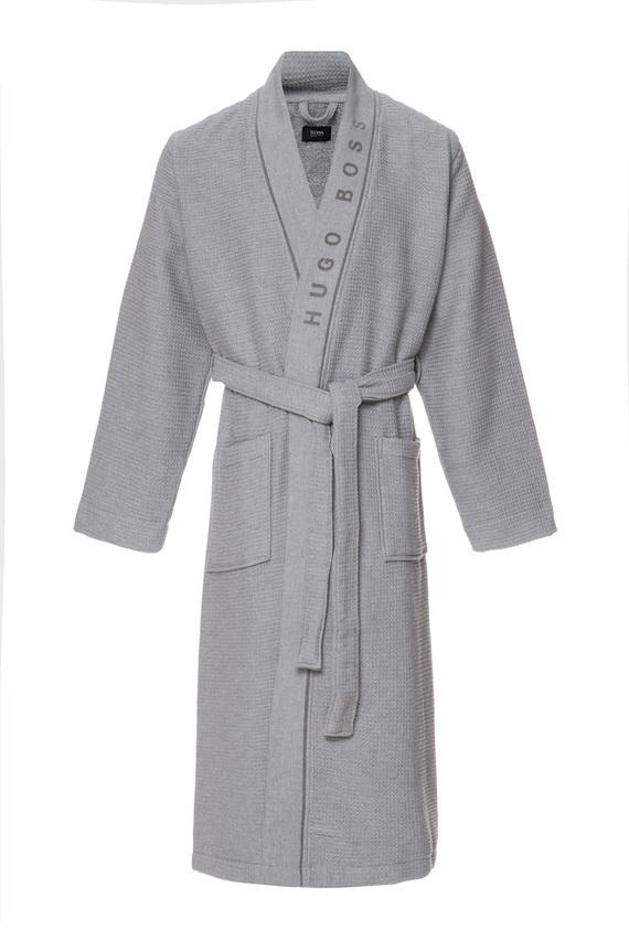 Мужской серый халат