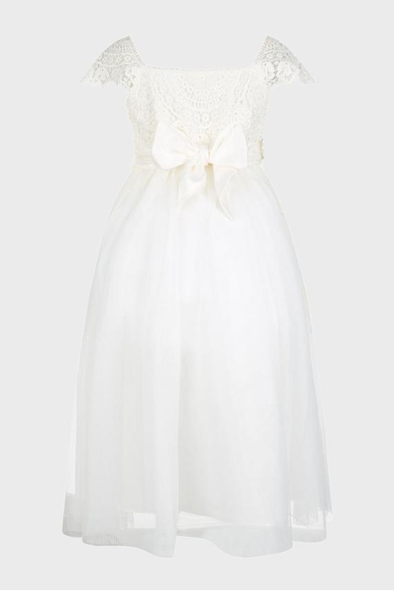 Детское белое платье ESTELLA IVORY DRESS
