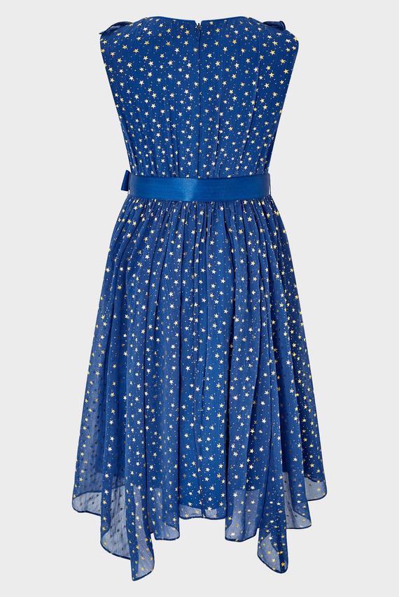 Детское синее платье ENCHANTED