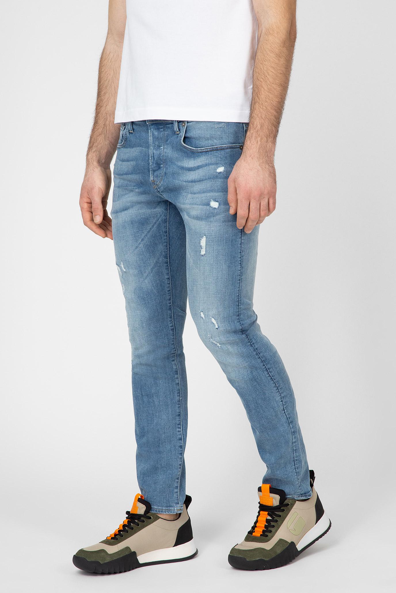 Купить Мужские голубые джинсы 3301 G-Star RAW G-Star RAW 51001,9136 – Киев, Украина. Цены в интернет магазине MD Fashion