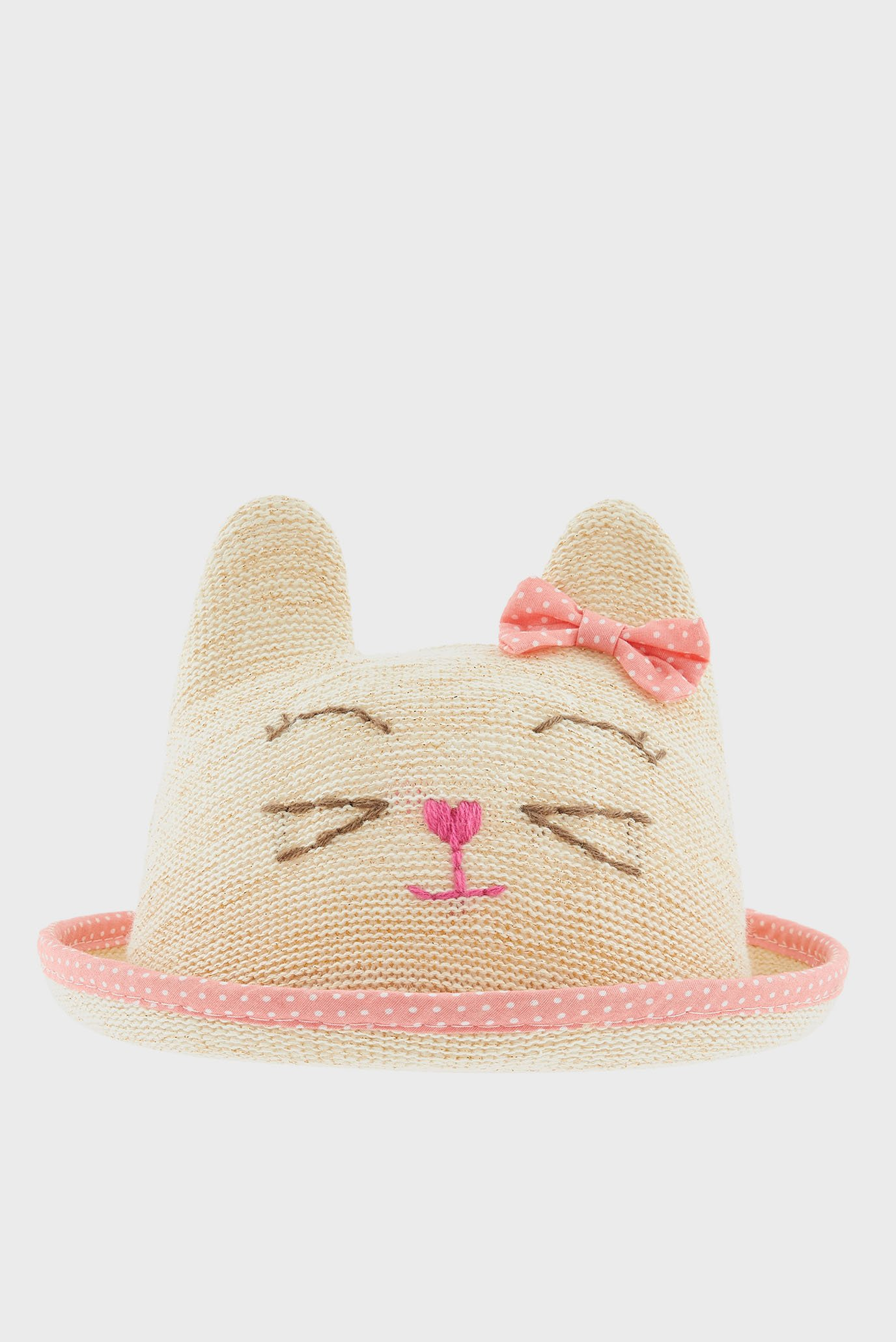 Детская бежевая шляпа BABY CATHERINE CAT Monsoon Children