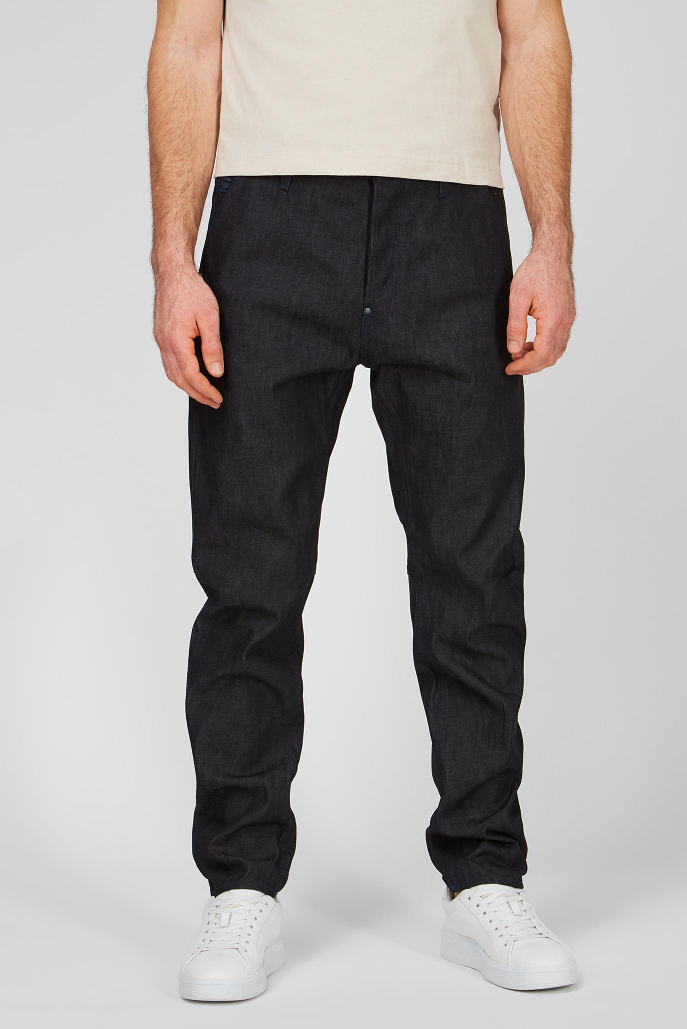 Мужские черные джинсы Grip 3D Relaxed Tapered 1