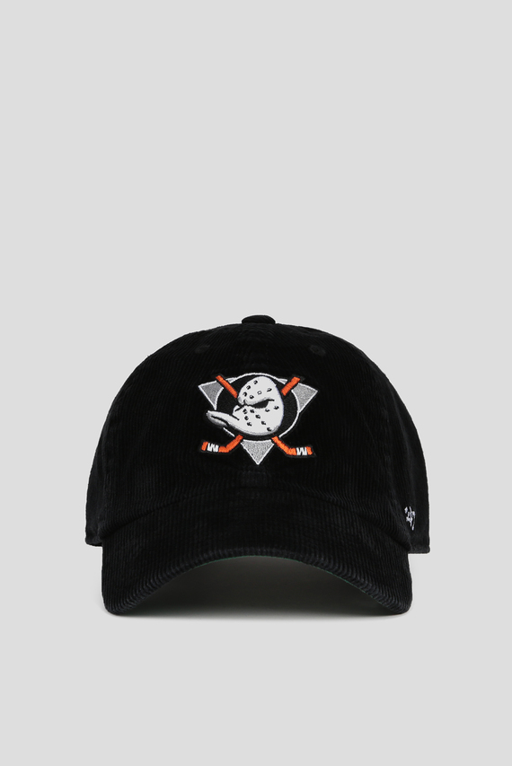 Черная вельветовая кепка CORDUROY ANAHEIM DUCKS