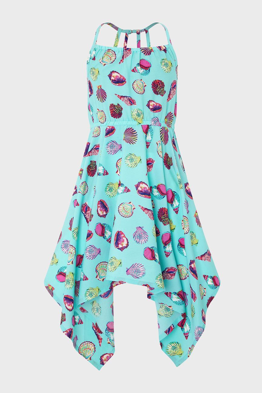 Детское голубое платье Sandy