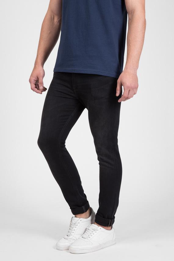 Чоловічі чорні джинси SKINNY SIMON KEBLST