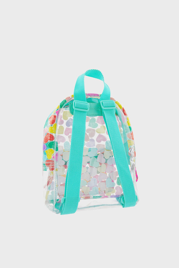 Детский рюкзак с принтом CANDY HEART JELLY BA