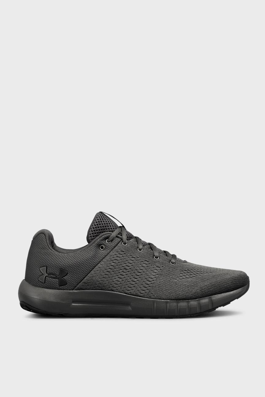 Мужские черные кроссовки UA Micro G Pursuit