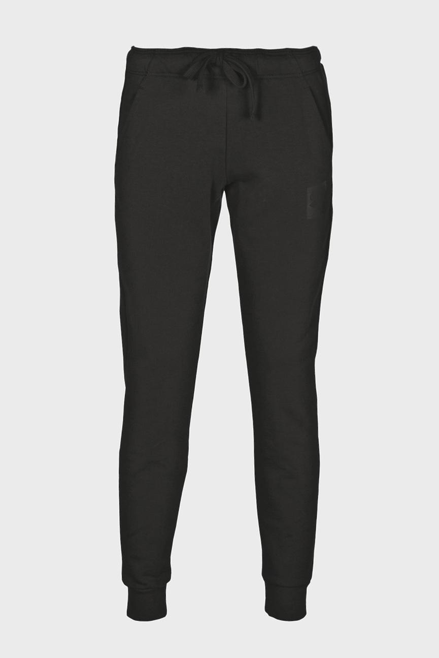 Женские черные спортивные брюки ESSENTIAL