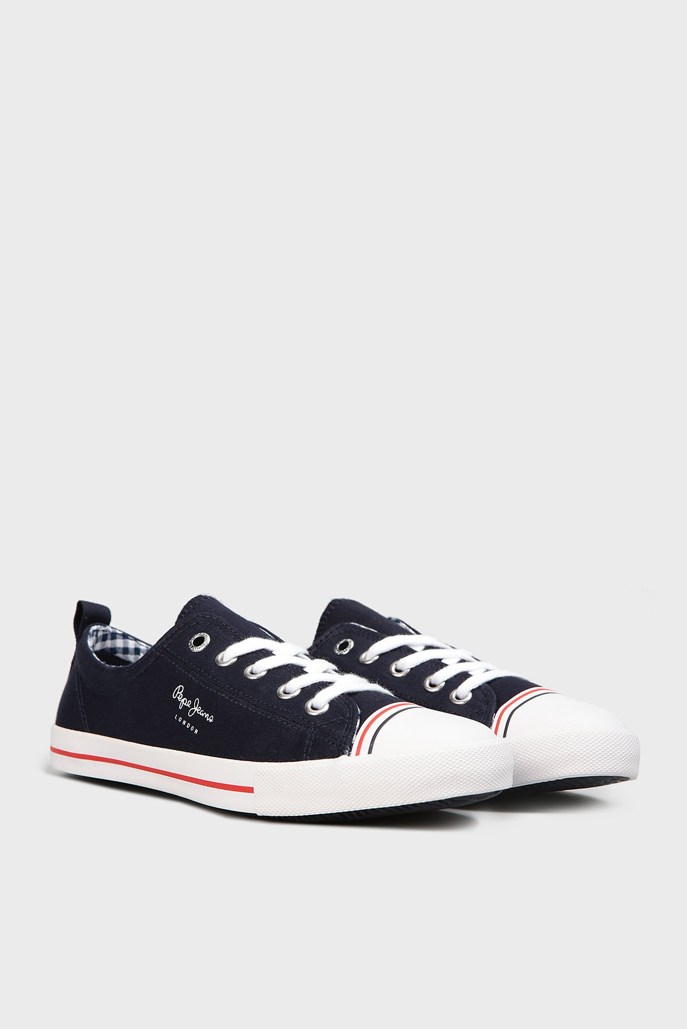 Купить Женские темно-синие кеды Pepe Jeans Pepe Jeans PLS30657 – Киев, Украина. Цены в интернет магазине MD Fashion