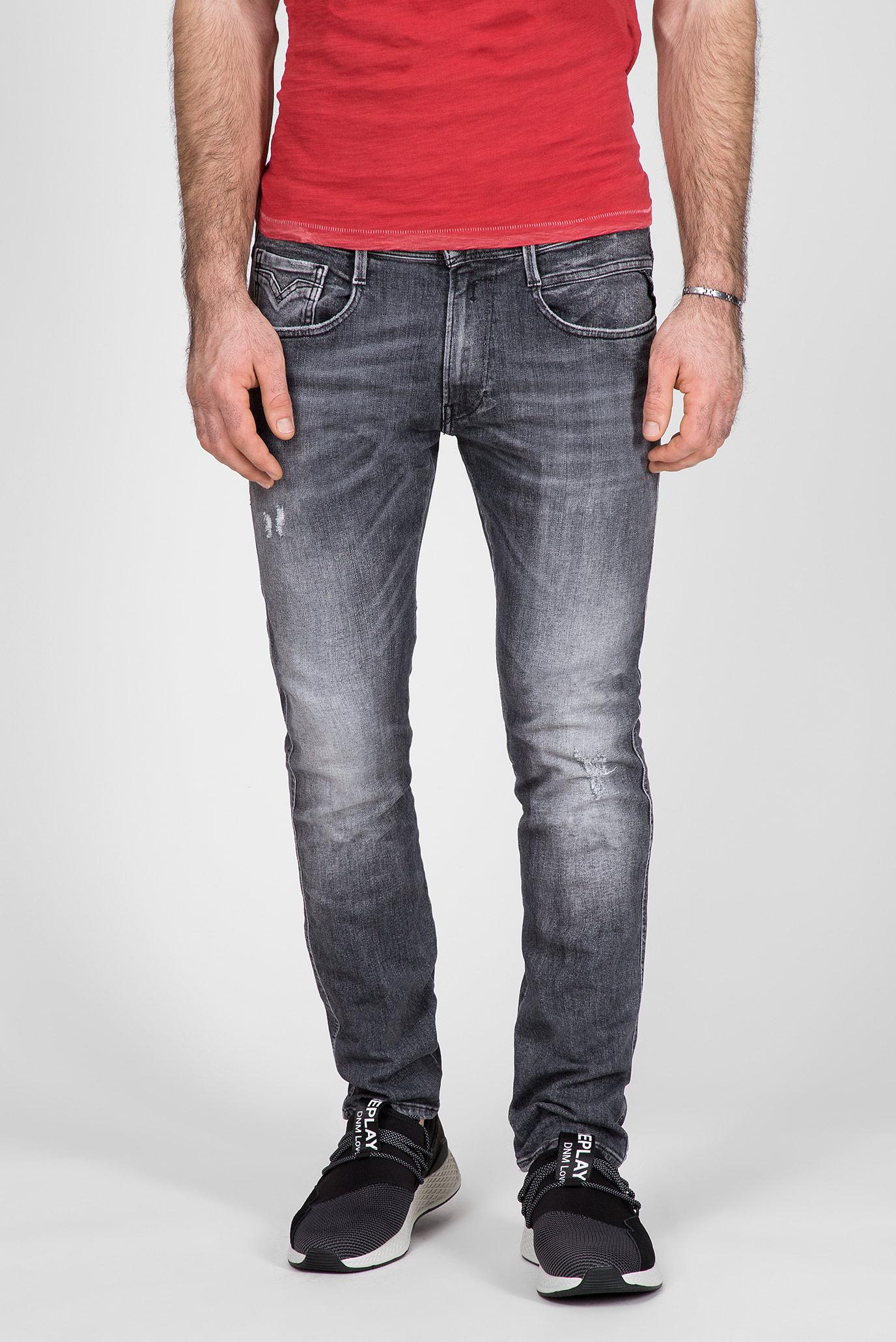 Мужские серые джинсы ANBASS Replay