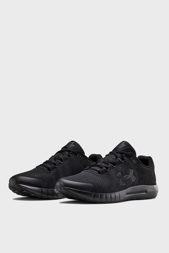 Мужские черные кроссовки  UA Micro G Pursuit BP-BLK