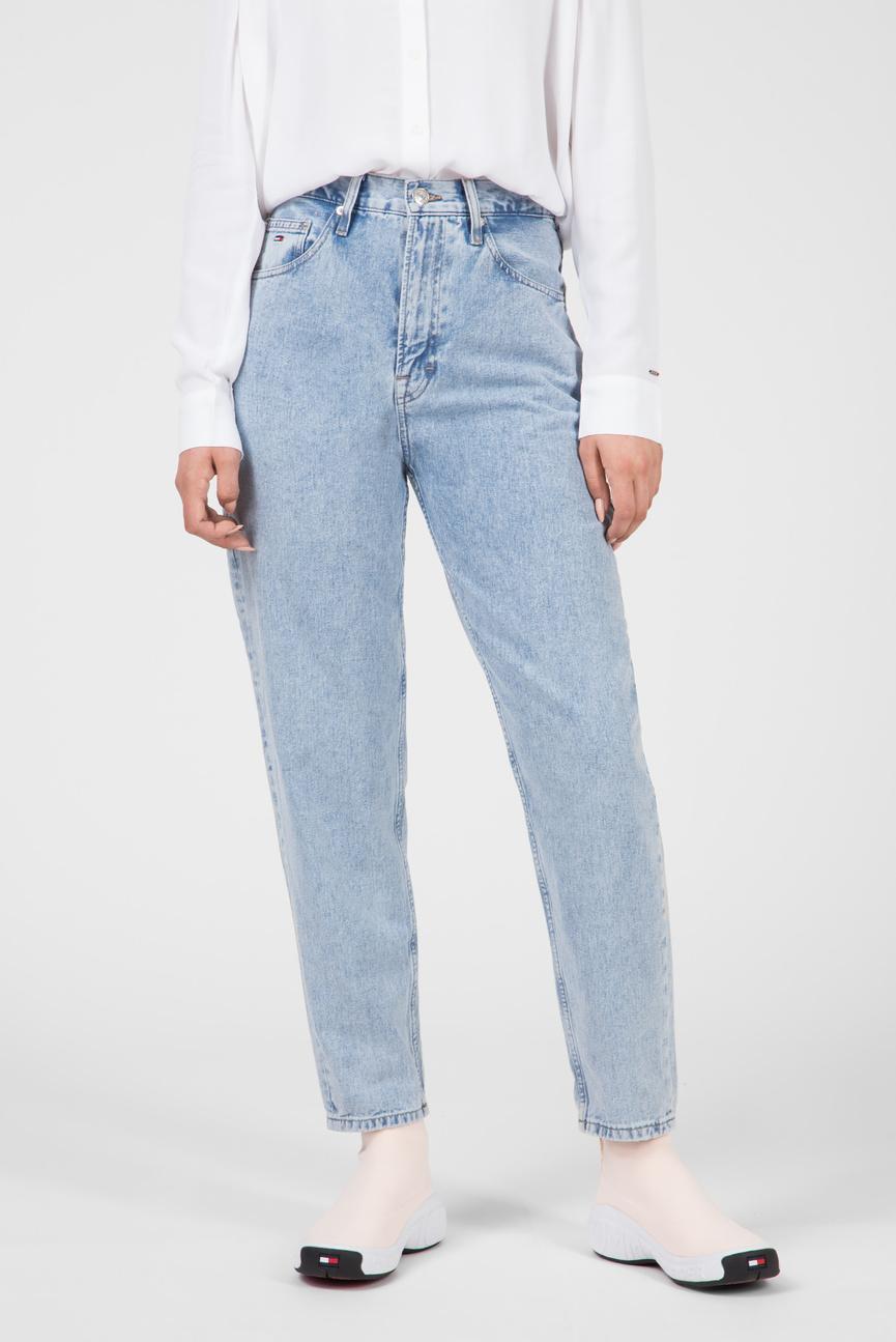 Женские голубые джинсы HIGH RISE TJ2004