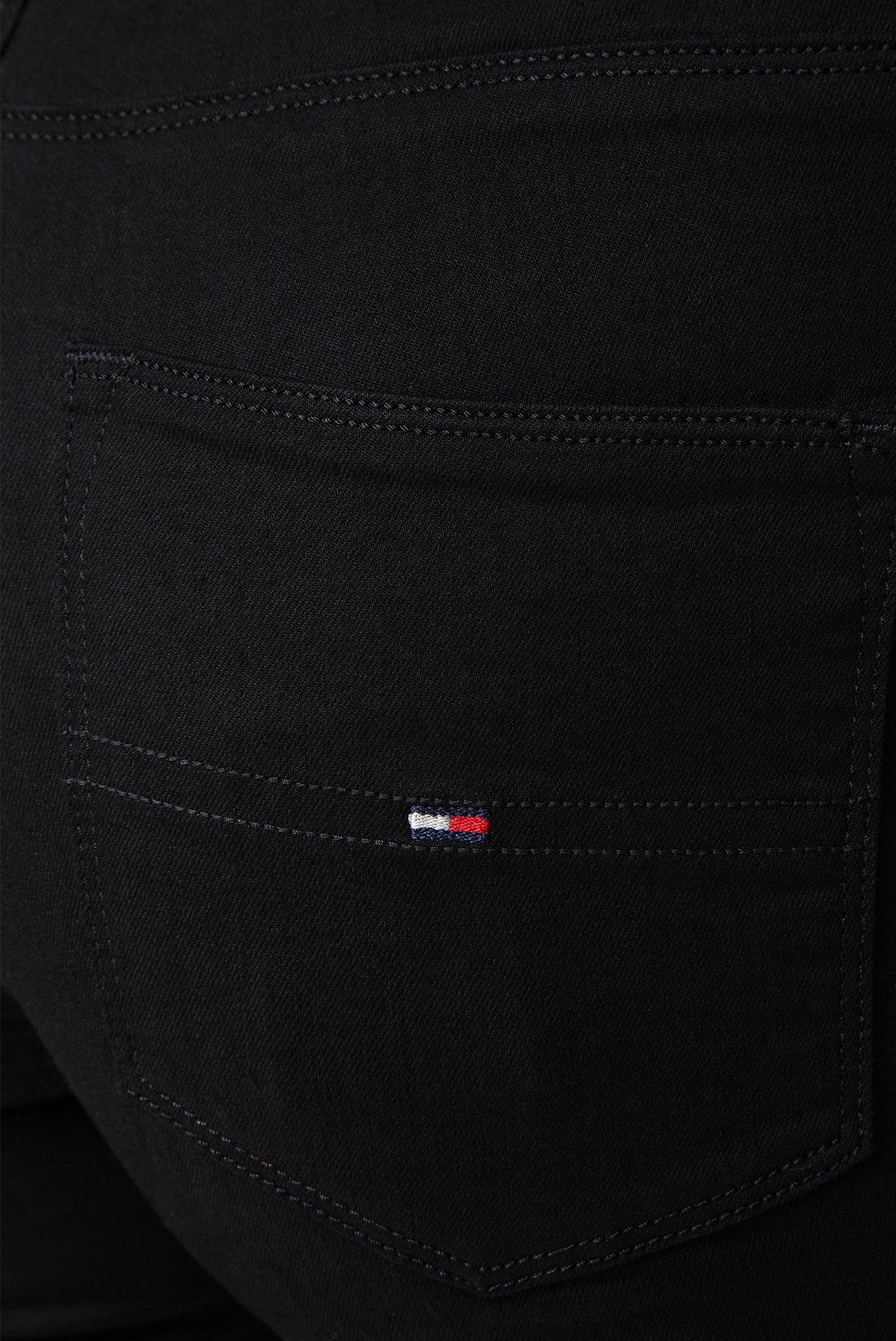 Женские черные джинсы HIGH RISE SPR SKNY TJ 2008 Tommy Hilfiger