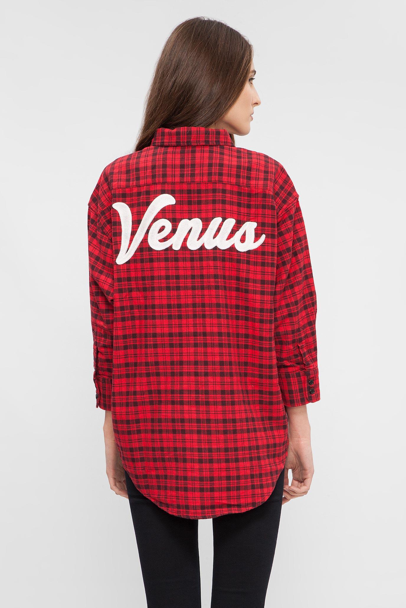 Купить Женская красная рубашка в клетку Replay Replay W2944 .000.51976 – Киев, Украина. Цены в интернет магазине MD Fashion