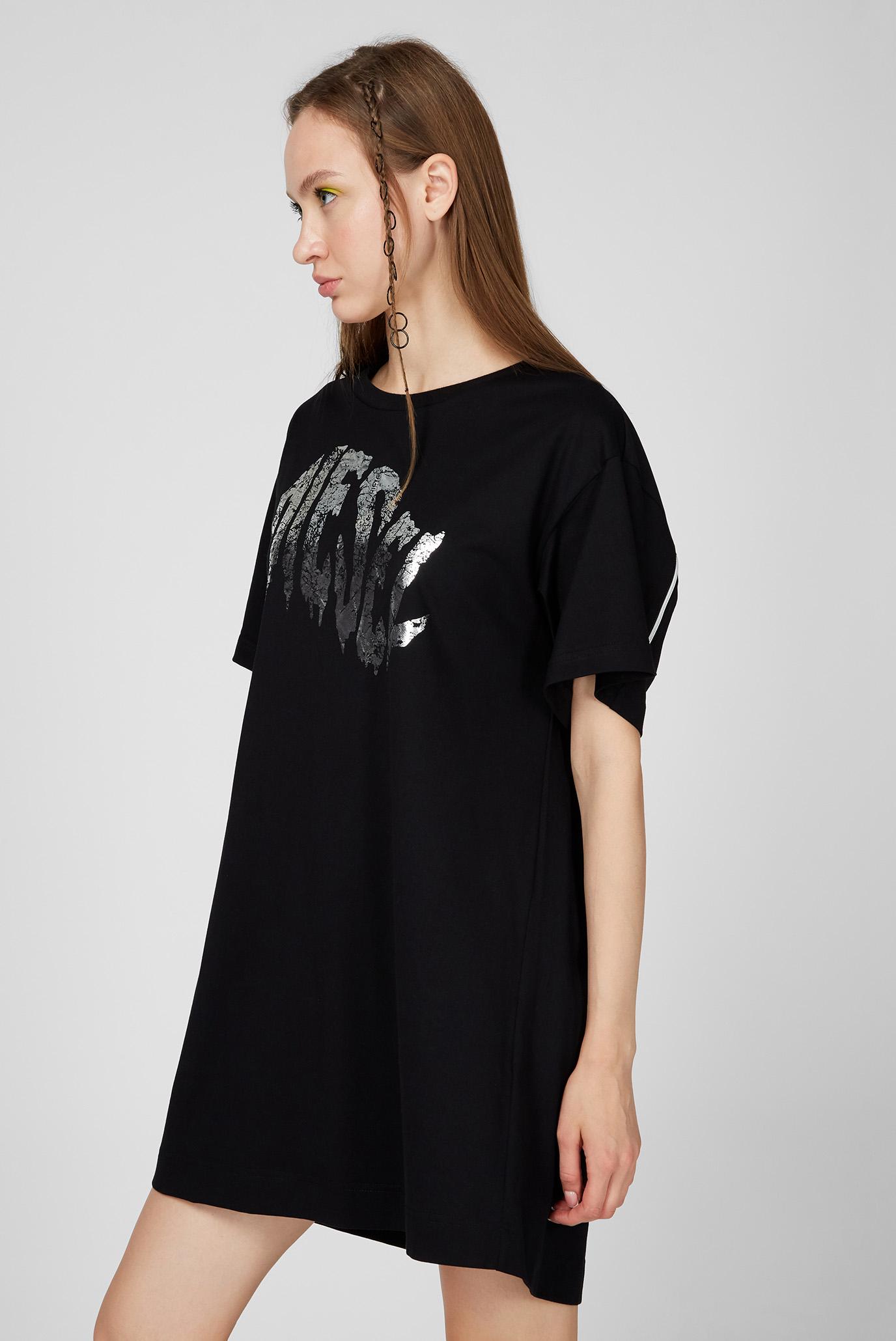 Женское черное платье D-BOWLY Diesel
