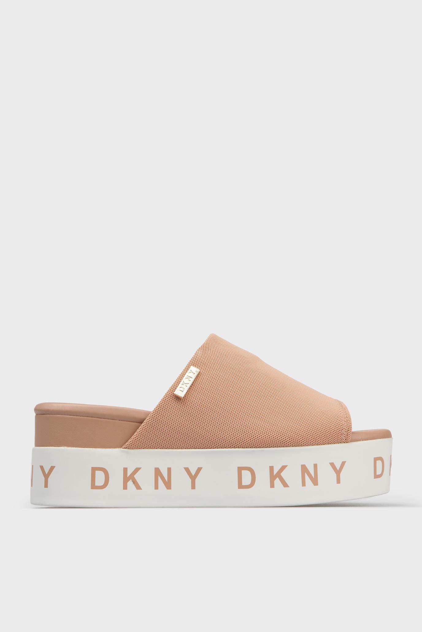 Купить Женские розовые слайдеры DKNY DKNY K1527368 – Киев, Украина. Цены в интернет  магазине MD Fashion 5adbf50debb
