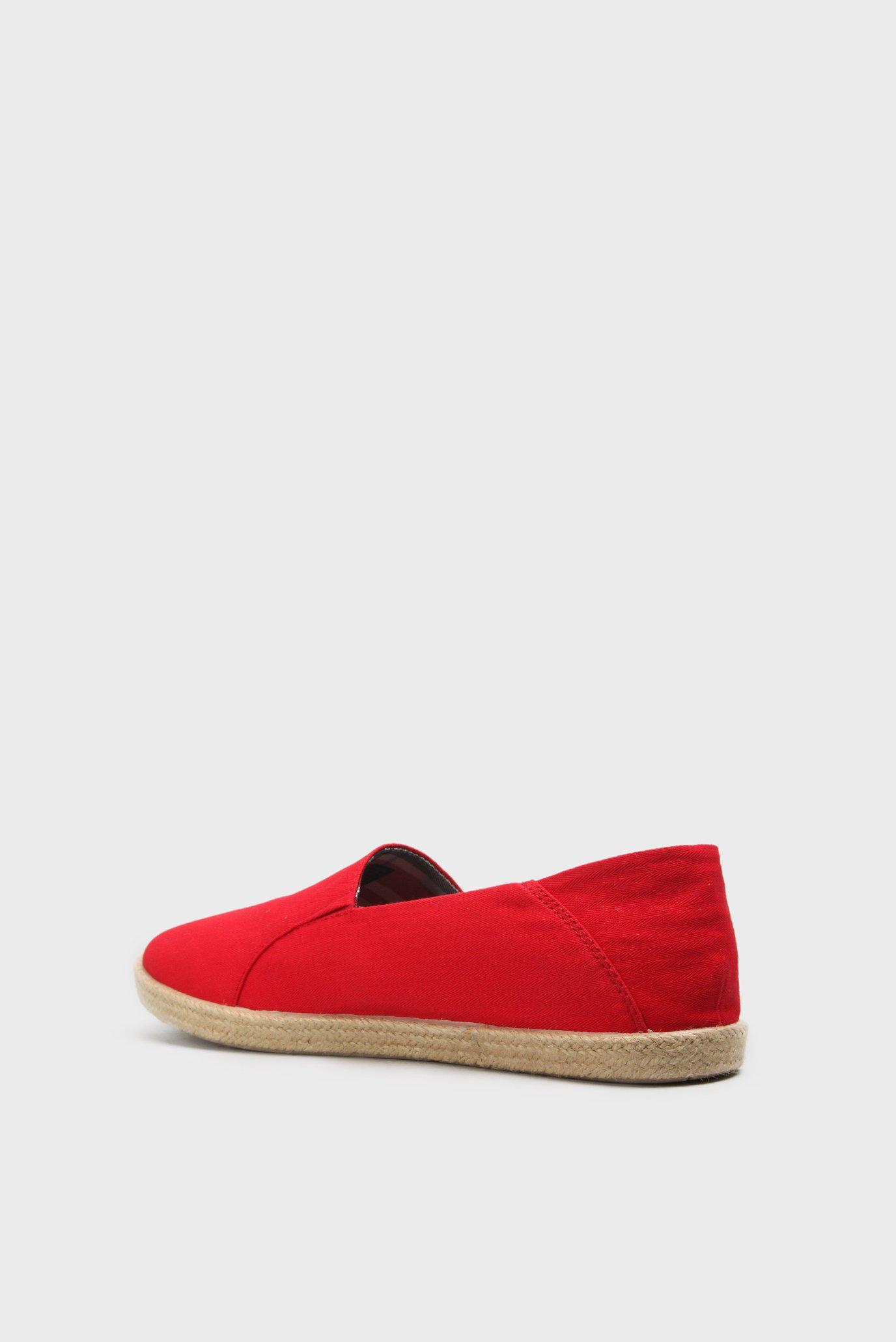 Купить Мужские красные эспадрильи с вышивкой Tommy Hilfiger Tommy Hilfiger FM0FM00569 – Киев, Украина. Цены в интернет магазине MD Fashion