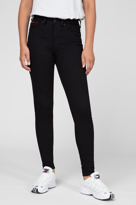 Женские черные джинсы HIGH RISE SPR SKNY TJ 2008