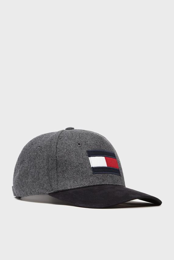 Мужская серая кепка BIG FLAG CAP MIX