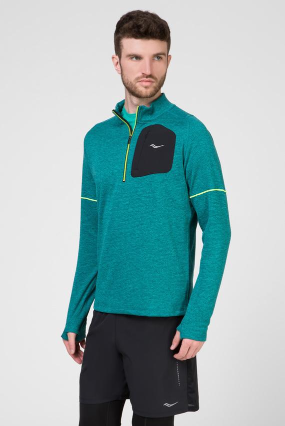 Мужская зеленая спортивная кофта RUNSTRONG THERMAL
