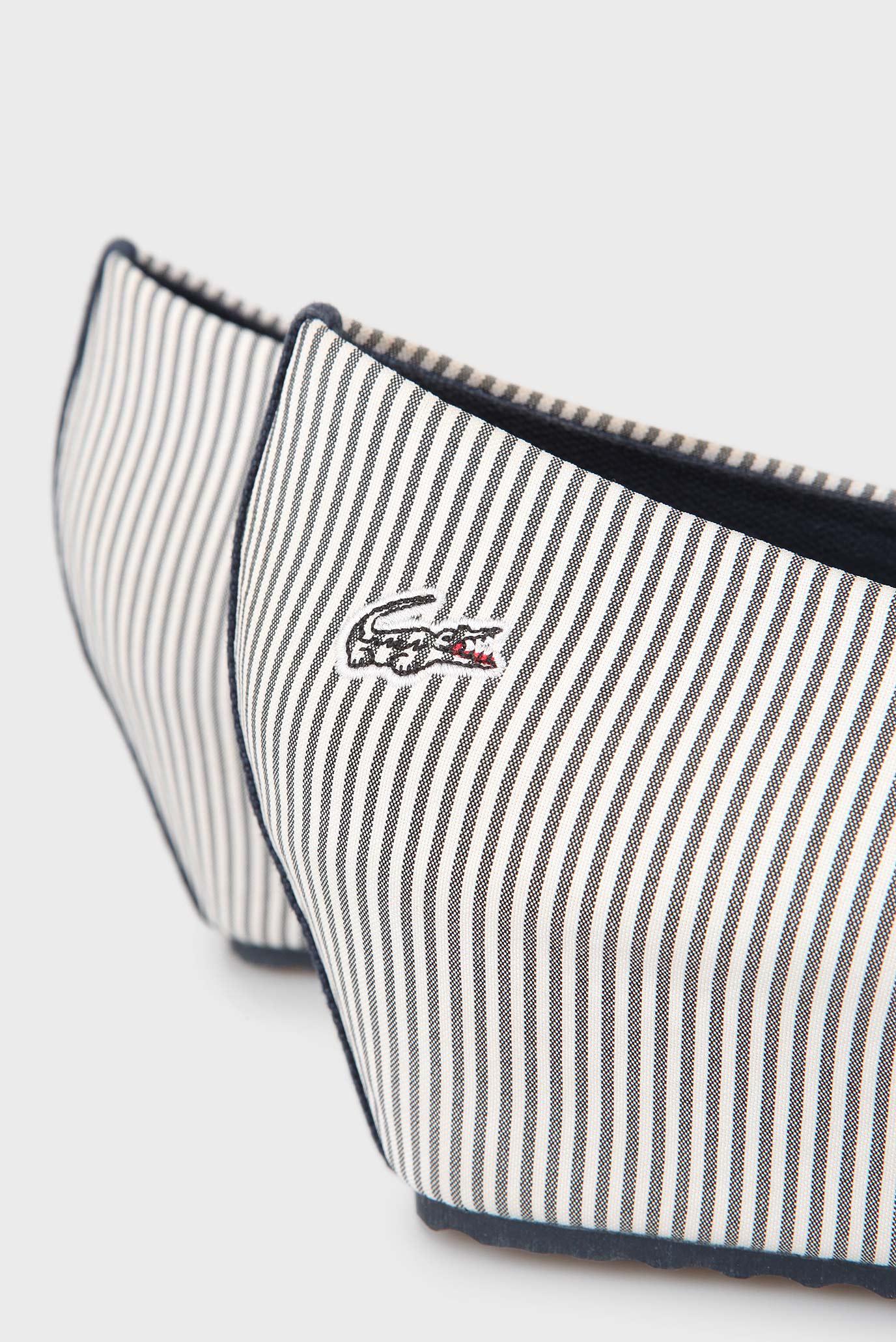 fe297d65c Купить Женские белые туфли в полоску Lacoste Lacoste SRW1046 – Киев,  Украина. Цены в интернет магазине MD Fashion