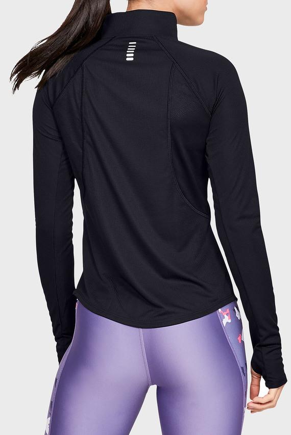 Женская черная спортивная кофта UA Speed Stride Half Zip