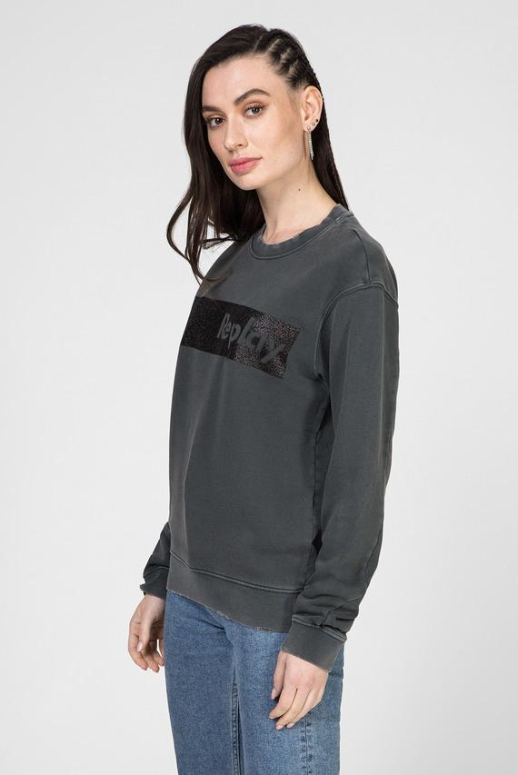 Женский серый свитшот