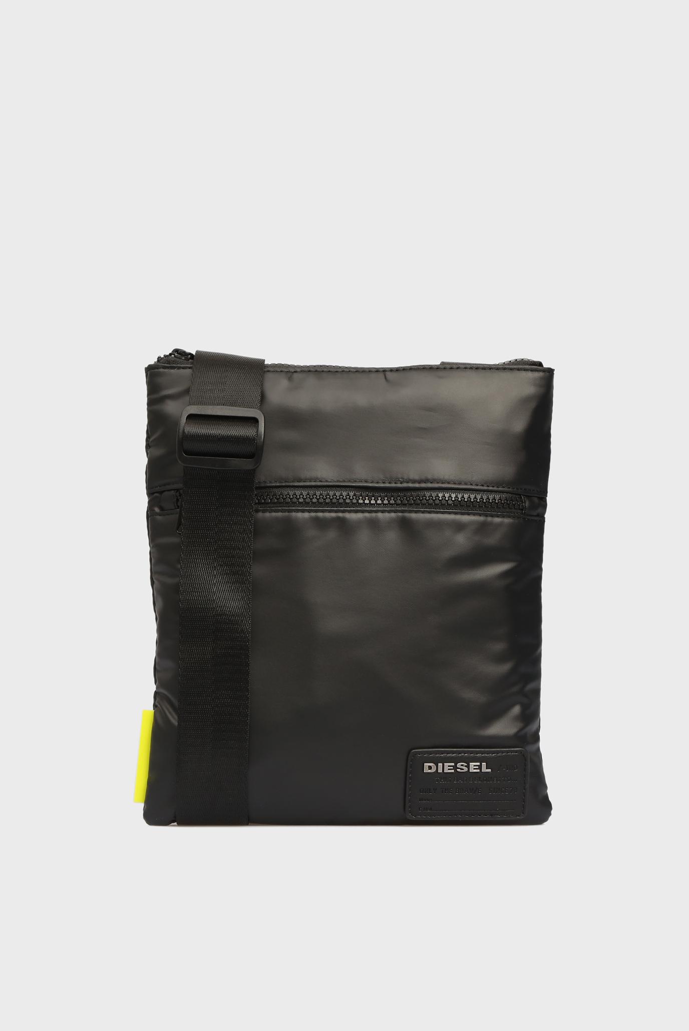 16d7a068d54e Купить Мужская черная сумка через плечо Diesel Diesel X04813 P1157 ...
