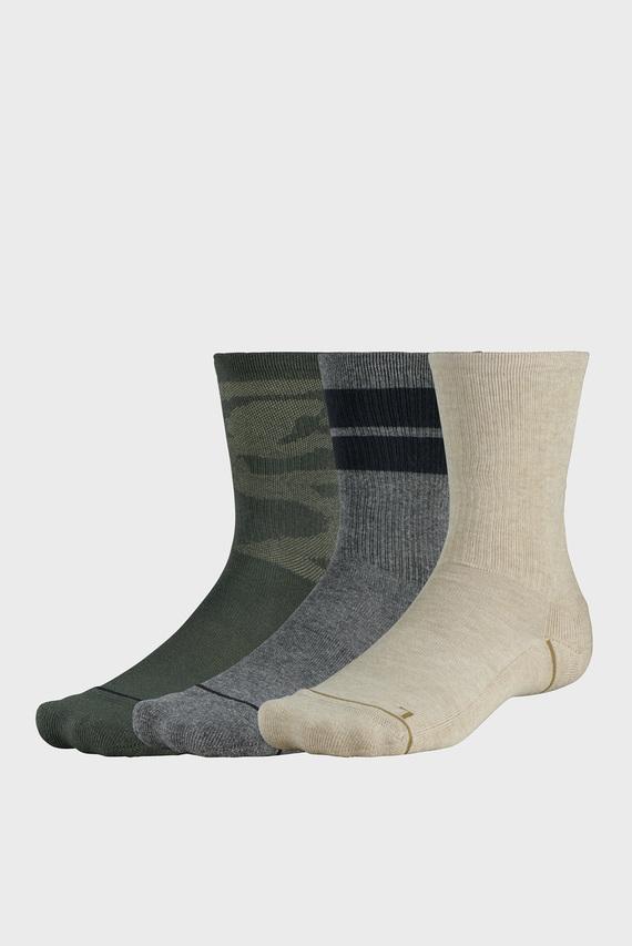 Мужские носки (3 пары) UA Phenom Novelty Crew