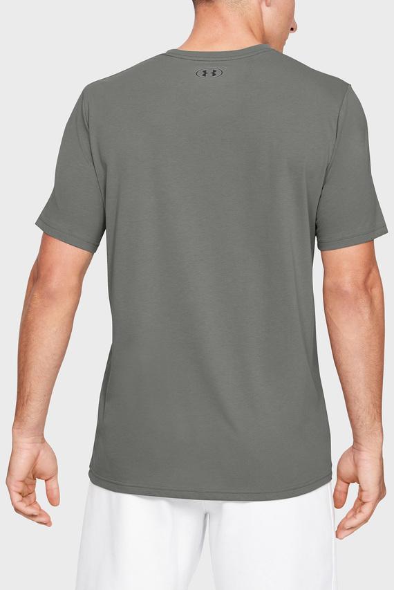 Мужская оливковая футболка UA GL Foundation SS T