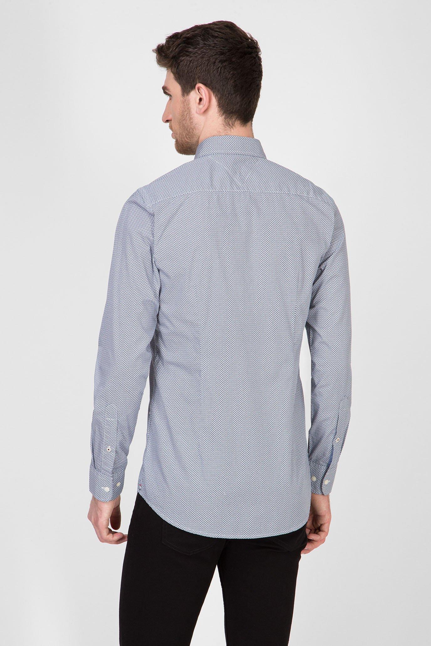 Мужская рубашка SLIM GEO FLORAL PRINT Tommy Hilfiger