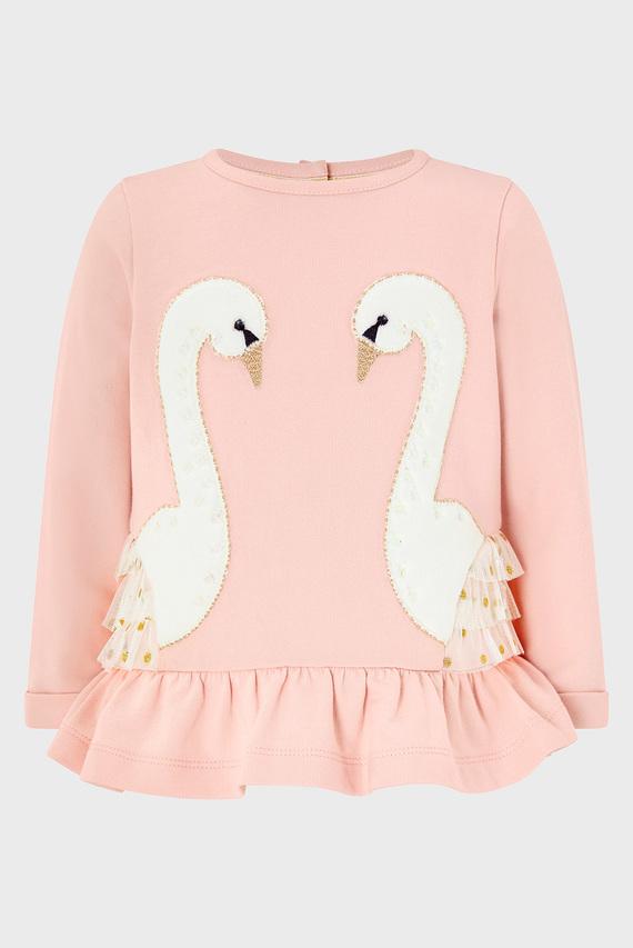 Детский костюм (топ и леггинсы) BABY SWAN SWEAT SET