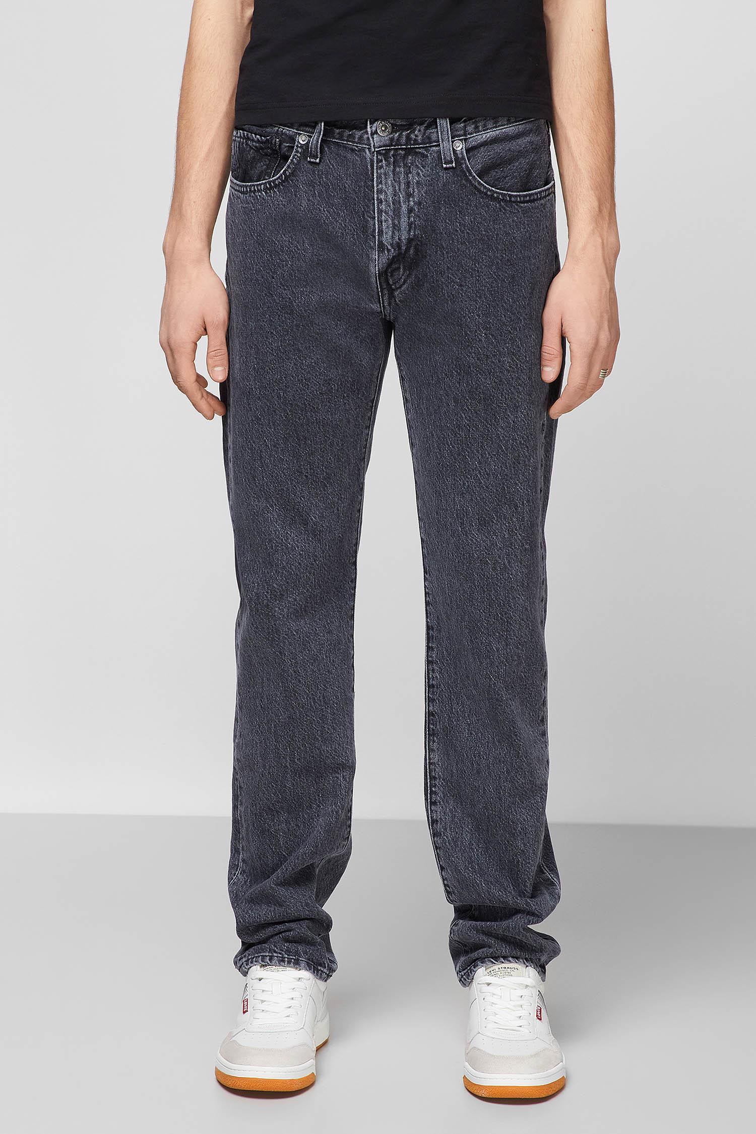 Мужские темно-серые джинсы 502 Taper 1